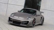 The TechArt GTstreet R based on the Porsche 911 Turbo