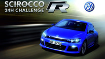 VW Scirocco R iPhone race game screenshot