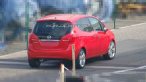 Opel Meriva Spied Completely Uncovered