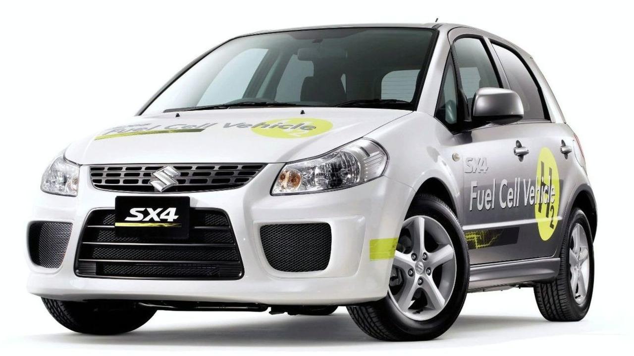 Suzuki SX4 Fuel Cell Vehicle Concept