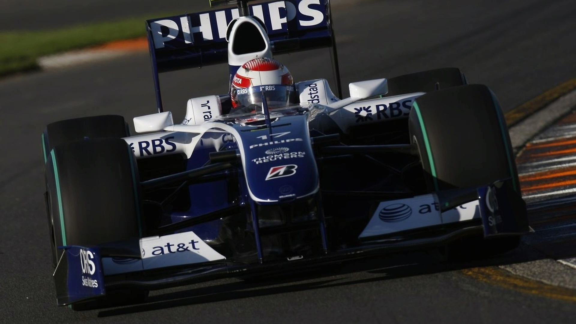 Nico Rosberg tops the timesheets in both opening practice sessions