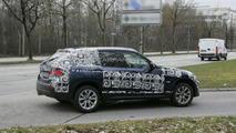 BMW X1 prototype spied in Germany