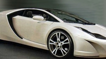 2007 artist rendering of new 2011 Lotus Esprit