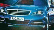 2011 Mercedes C-Class leaked?