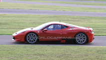 Ferrari 458 Challenge spy photos, Fiorano test Circuit, Italy, 02.08.2010