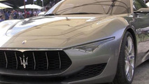 Maserati Alfieri concept at Concorso dEleganza Villa dEste