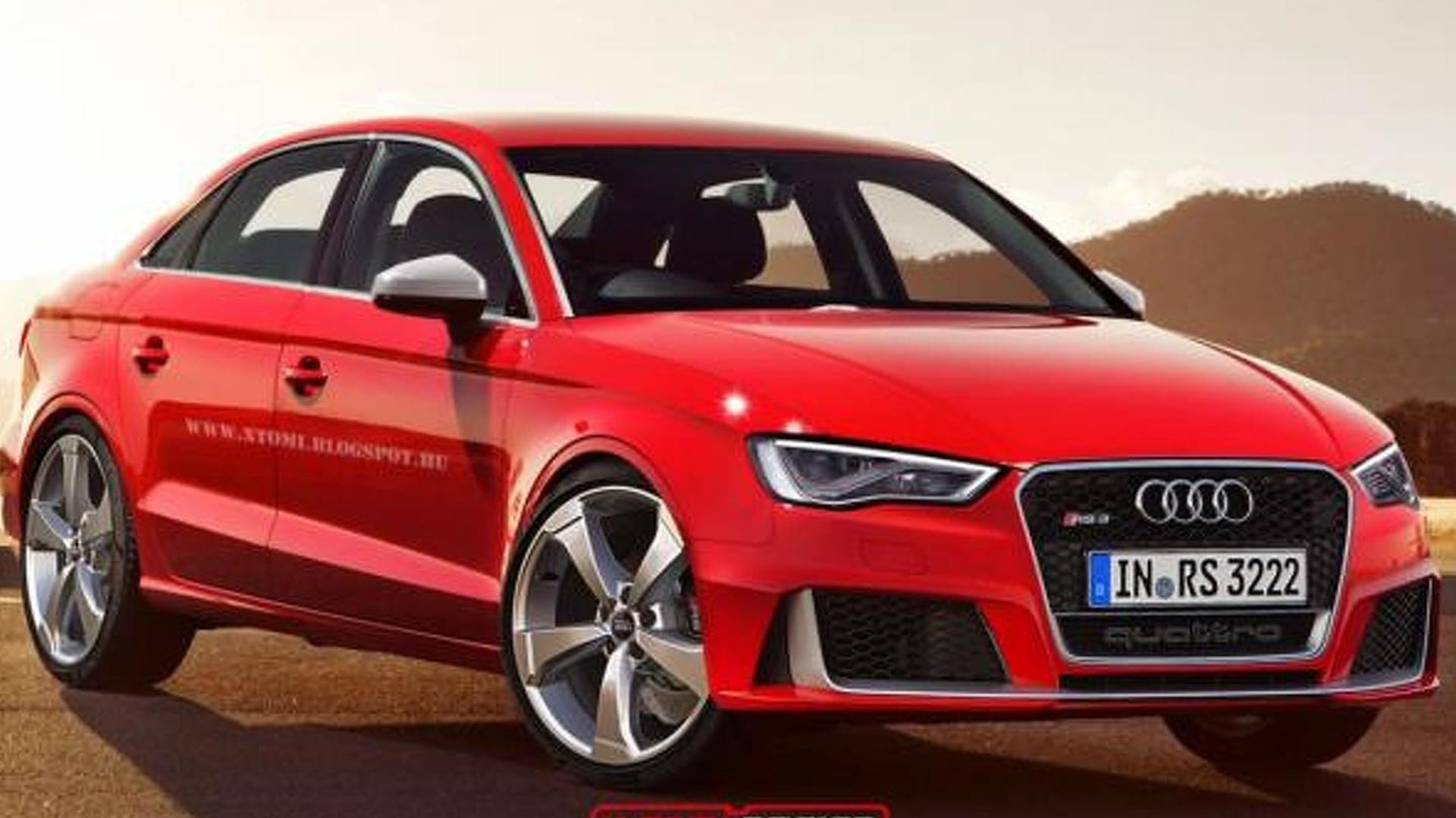 Audi RS3 Sedan allegedly coming to United States
