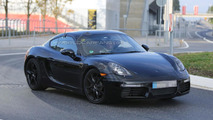 2016 Porsche Cayman facelift spied for the first time