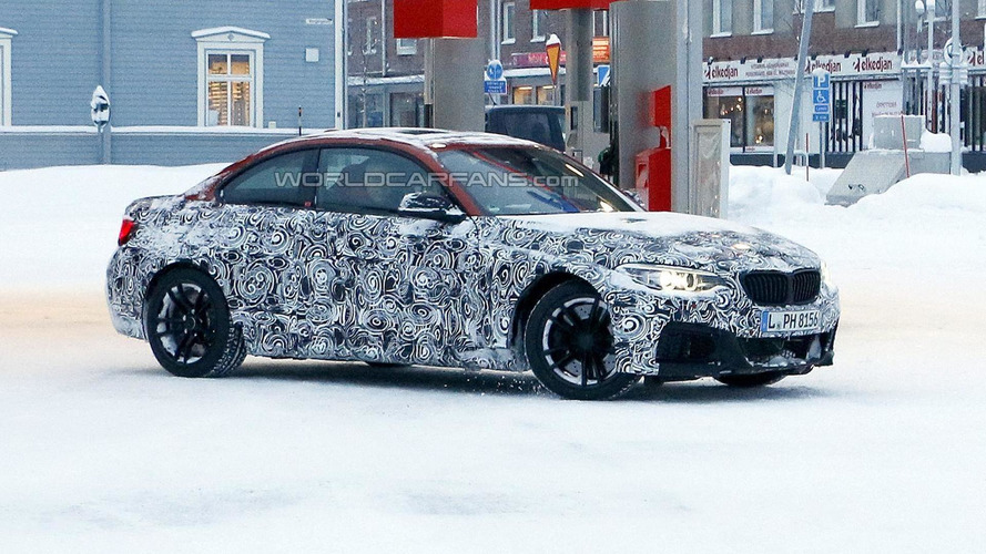 2016 BMW M2 Coupe spied during winter testing