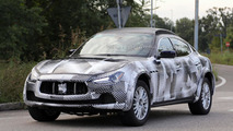 2016 Maserati Levante mule spied for the first time