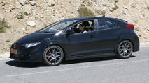 Honda Civic Type R prototype spied without a rear wing