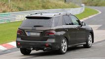 2016 Mercedes-Benz M-Class facelift / GLE spy photo