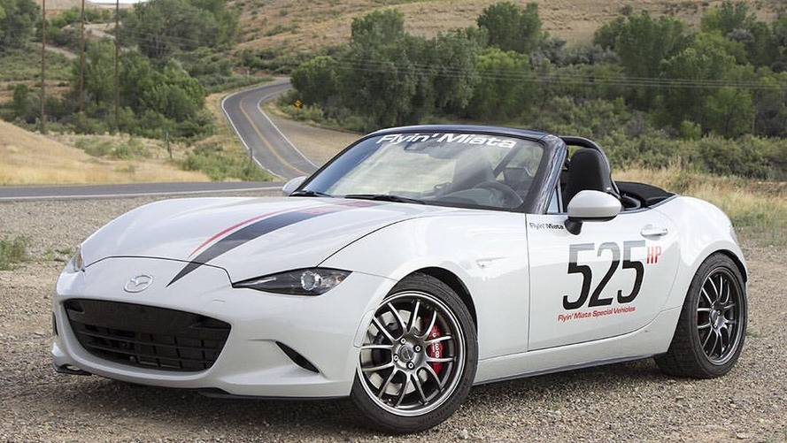 2016 Mazda MX-5 gets 525-hp American V8 heart transplant