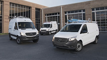 Putting the Mercedes-Benz Metris and Sprinter to work