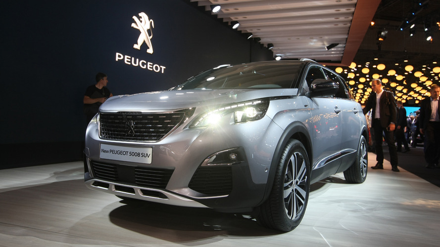 Peugeot 5008 7-seater gets an all new look for Paris