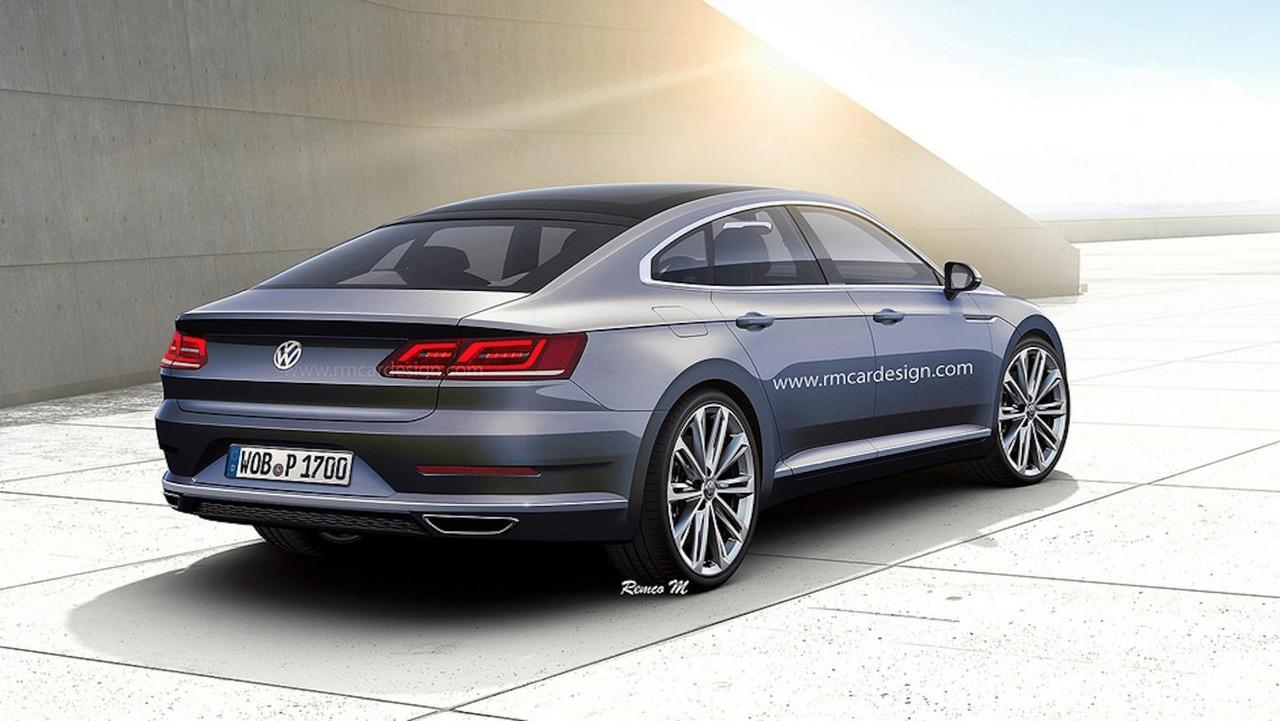 Volkswagen CC 2018 Rendu
