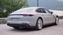 2017 Porsche Panamera Turbo detailed in a trio of colours