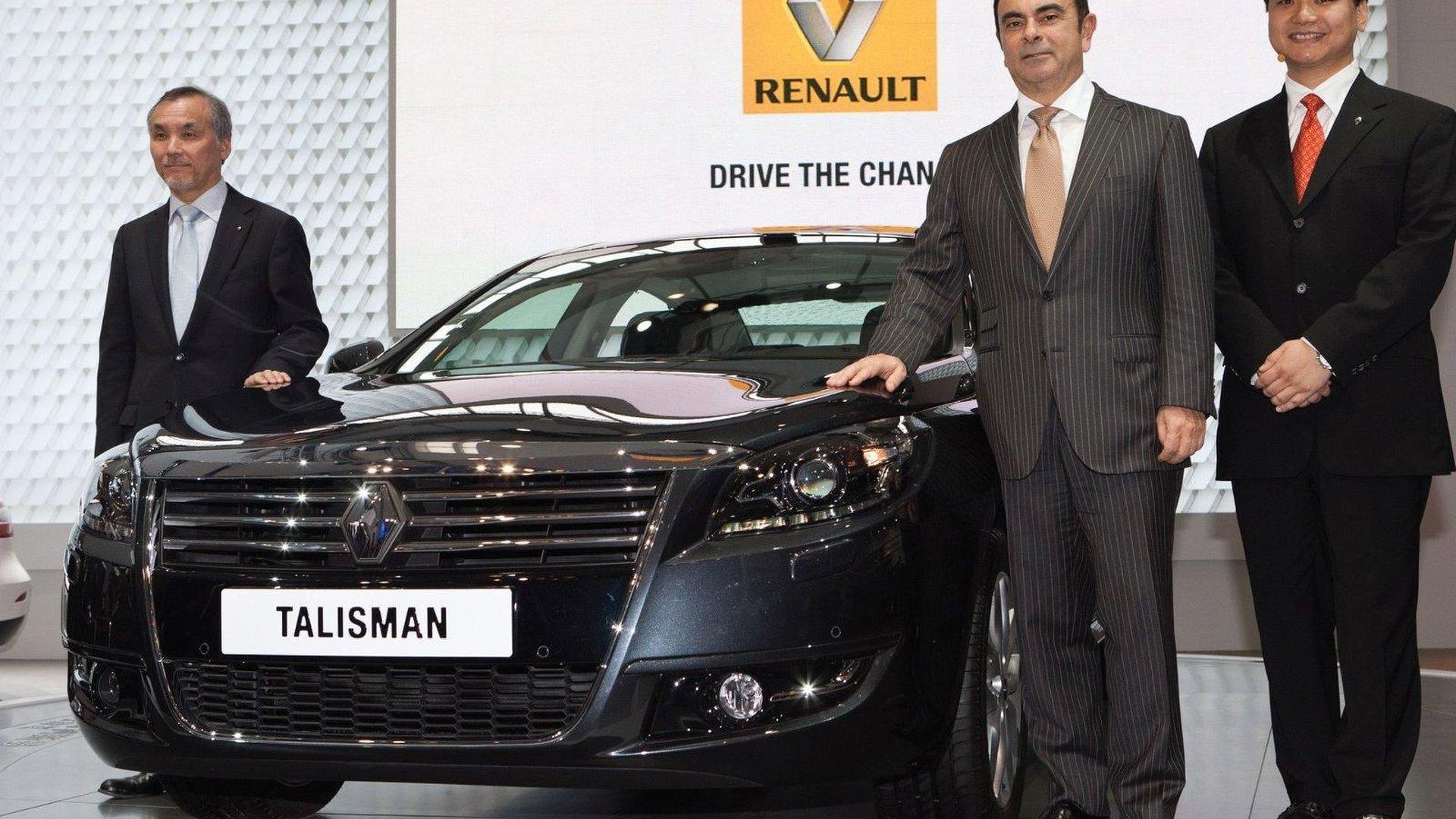Renault Talisman luxury sedan unveiled at Beijing Motor Show