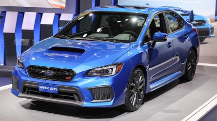 2018 Subaru WRX and STI: Detroit 2017