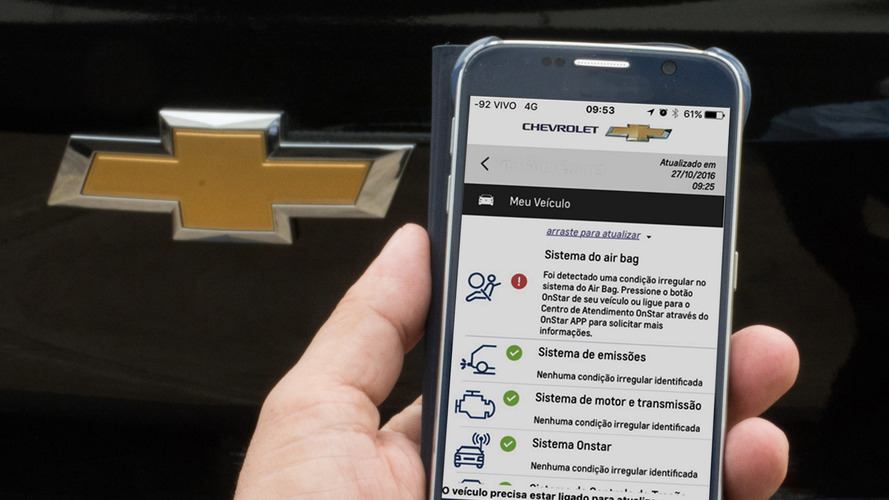 Chevrolet divulga preços do serviço OnStar no Brasil