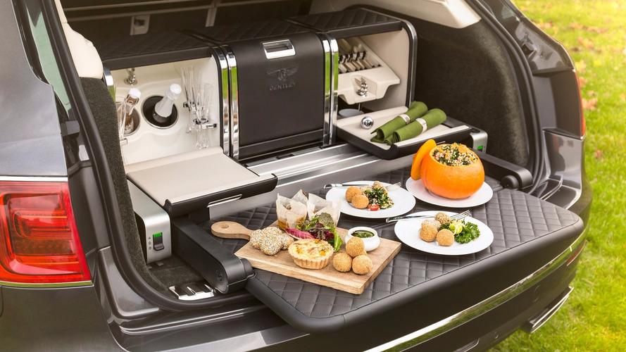Bentley se met à la gastronomie avec un nouveau pique-nique