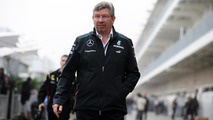 Brawn 'fishing', not preparing for McLaren top job