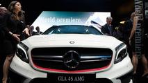 2014 Mercedes-Benz GLA 45 AMG live at 2014 NAIAS