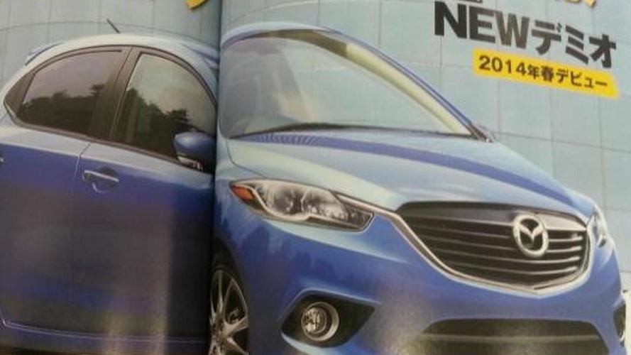 2015 Mazda2 / Demio revealed via Japanese magazine ?