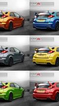 2015 Honda Civic Type R artist rendering 16.09.2013
