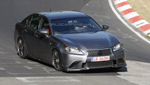 Lexus GS F spied testing in Germany