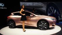 Infiniti Q30 Concept live at 2013 Frankfurt Motor Show 10.09.2013