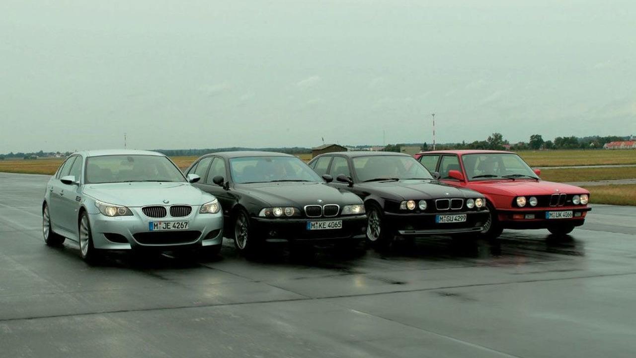 BMW M5 four generations