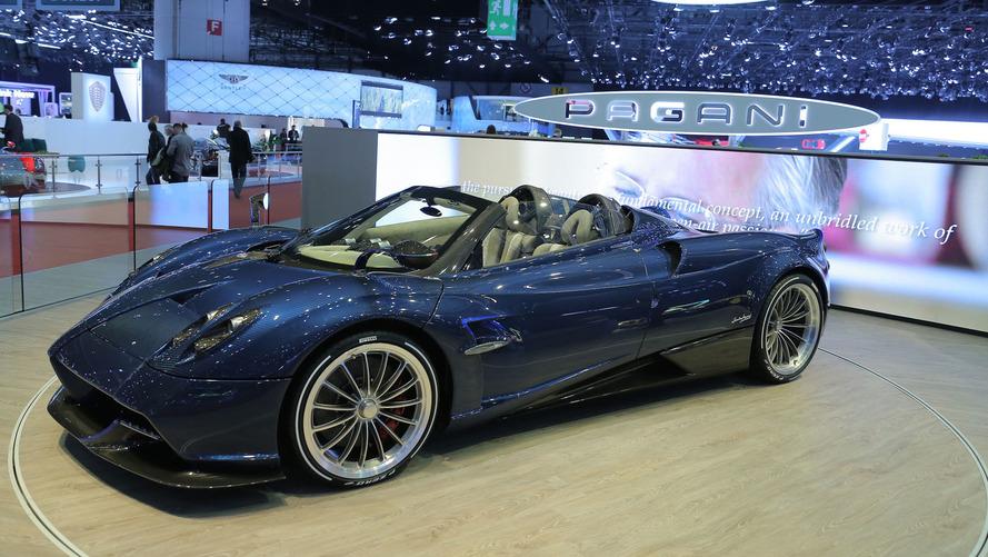 Pagani Huayra Roadster Configurator Provides Taste Of