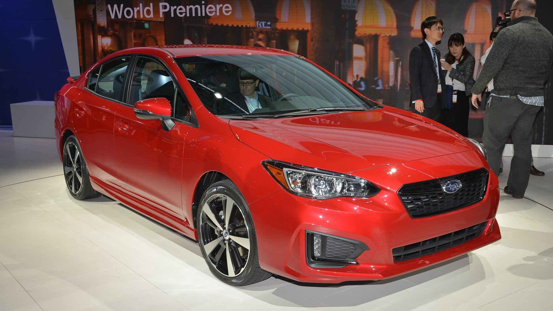 2017 Subaru Impreza Sedan, 5-Door inaugurate global platform