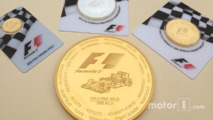 F1 gold coin worth $40,000 launched 2
