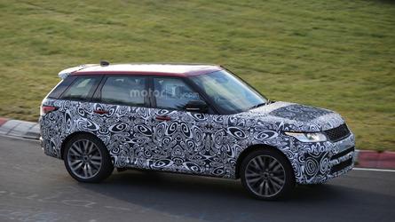 Facelifted Range Rover Sport SVR roars on the Ring