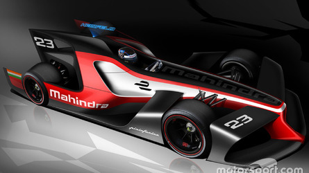 Mahindra and Pininfarina reveal Formula E concept designs