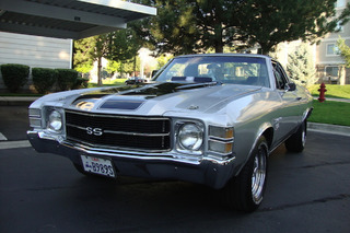 Pristine Chevy El Camino SS: Your Ride