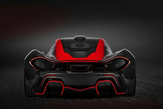 This McLaren P1 Looks Wicked in Black and Red
