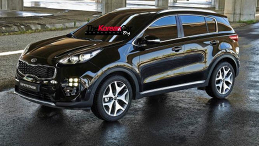 2016 Kia Sportage first official images leaked