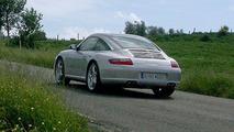 Uncovered Porsche 911 Targa Spy Photos