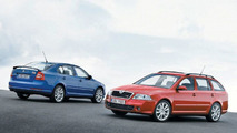 New Skoda Octavia RS First Photos