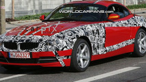New BMW Z4 Spied with Least Amount of Camouflage