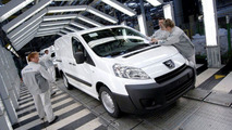 PSA Peugeot Citroen Compact Van Production