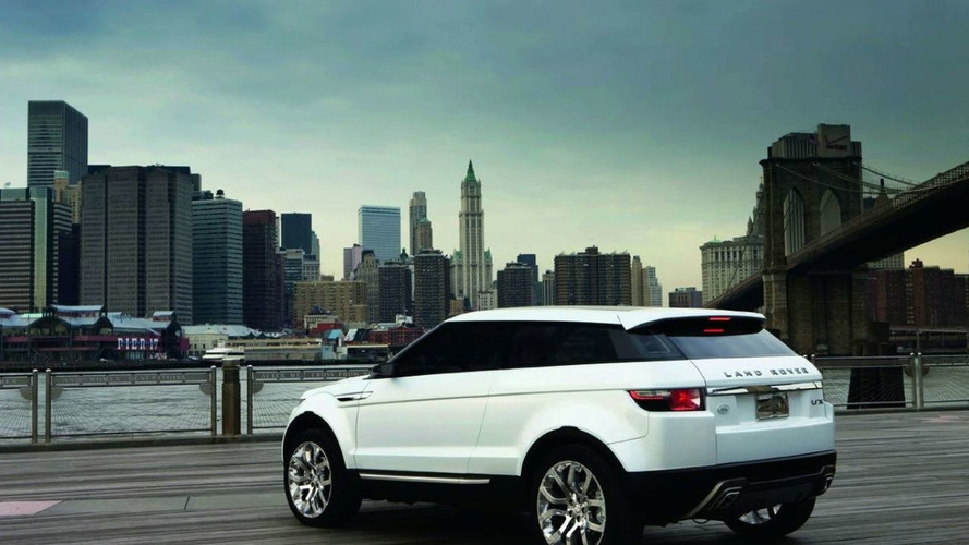 Land Rover LRX Concept European Debut at Geneva