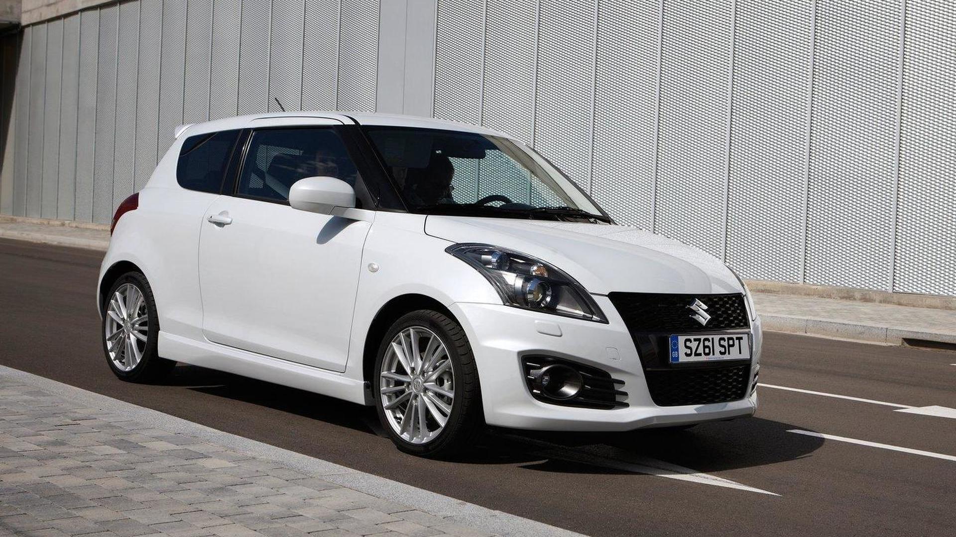 Suzuki Swift Sport priced at £13,500
