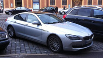 BMW 6-Series Gran Coupe on the street 26.12 2011