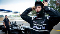 Nissan DeltaWing hit by a Porsche GTC class car during Road Atlanta testing [video]
