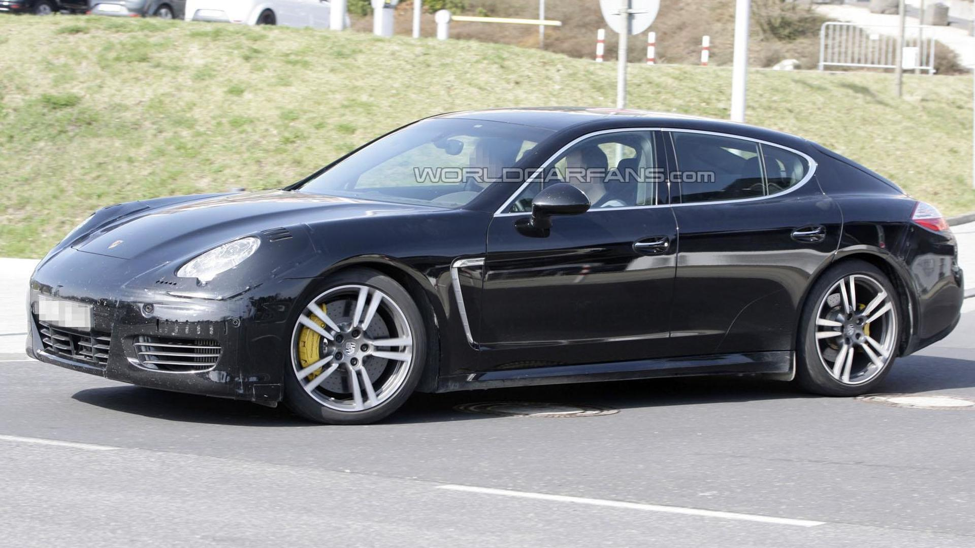 2013 Porsche Panamera To Get Twin Turbo V6 V8 Tdi Report