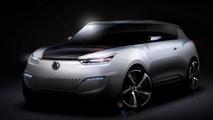 SsangYong e-XIV concept heading to Paris